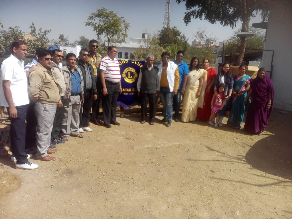 Lions club @ Animal shelter Udaipur